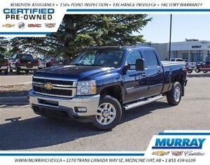 2012 Chevrolet SILVERADO 2500HD LT *4WD *Leather *6.6L Duramax D