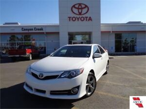 2014 Toyota Camry SE ONE OWNER CLEAN CARPROOF DEALER MAINTAINED