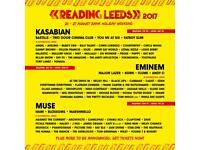 Leeds festival weekend tickets x2