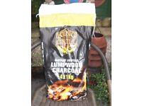 JOB LOT OF THREE BAGS x ( 4 x 1 kilo bags ) ' KING of the GRILL ' INSTANT LIGHTING LUMPWOOD CHARCOAL