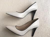 M&S Autograph leather heels size 6