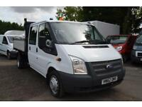 2012 FORD TRANSIT 125 T350 RWD 2.2 TDCi Double Cab Tipper One Stop DIESEL MANUAL