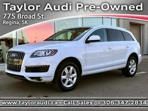 2015 Audi Q7 3.0T Progressiv LOCAL, NAV, REARVIEW CAMERA, BI-...