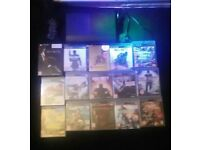 Ps3 with 15 games 1 controller power cable