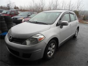 DEAL! JUST INSPECTED VERSA! WITH CRUISE CONTROL AND ALLOY RIMS