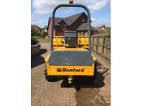 Benford 3 ton forward tipping Dumper in good condition