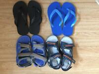 Brand new summer sandals. 4 pairs