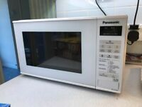 Panasonic electronic panel microwave