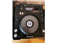 Pioneer CDJ 850k CD Turntables (pair)