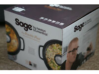 Sage the Risotto Plus Multi Cooker - Silver (by Heston Blumenthal BRC600UK)