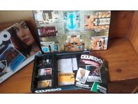 3 COLLECTABLE BOARD GAMES IN MINT CONDITION UNOPENED / USED SELL AS A JOB LOT OR INDIVIDUALLY