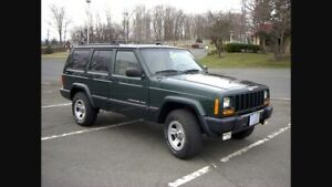 Jeep Cherokee front driveshaft and starter
