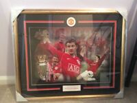 Manchester United picture of Ollie Gunnar Solskjaer