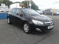 2010/10 Vauxhall Astra 1.7CDTi 16v Exclusive met black 12 months mot