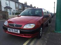 Diesel Citroen Saxo 1.5ltr. New MOT. 87,000 miles. VERY clean.