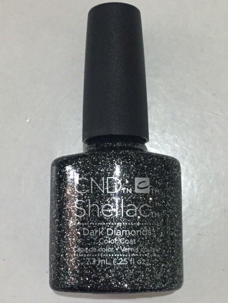 CND Shellac Dark Diamonds colour coat
