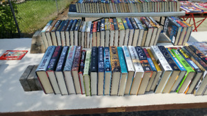Lots and Lots of Hard cover books. $5.00 each
