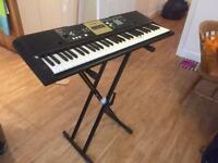 Yamaha Electronic Keyboard and Stand