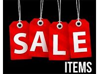 Lots of womens clothes, bags etc for sale at very low prices. Everything under £5.