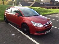 07 Citroen C4 VTR Coupe with low mileage and long MOT.