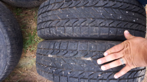 pairs of used tires