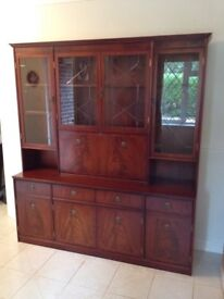 Large Solid Rose Wood Dresser