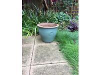 Ceramic Patio Plant Pot