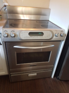 Four a convection stainless KitchenAid