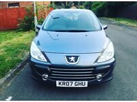 Peugeot 307 AUTOMATIC 12month Mot 07 plate 12month Tax Low Milage lady owner