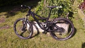 Giant Trance Advanced carbon full suss mtb 2016 size medium immaculate
