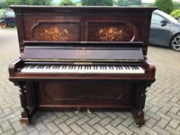 Steinway upright piano|Rosewood case|Belfast Pianos |