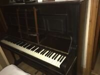Byers of London upright piano