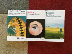 Various French Books