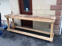 Free wooden bench