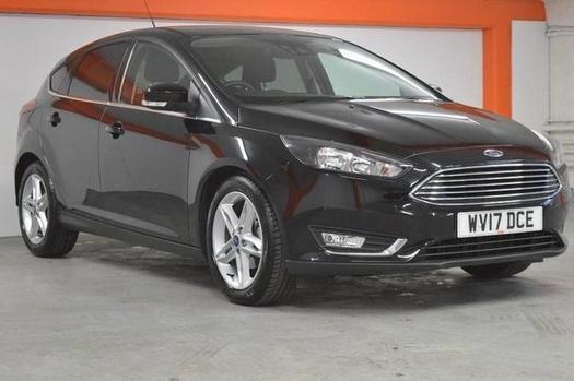 2017 Ford Focus 1.0 EcoBoost 125 Titanium Navigation 5 door Petrol Hatchback