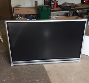 Toshoba rear projection tv