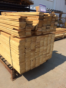 5/4x6x6 FT HEAVY DUTY COMMERCIAL FENCE BOARDS
