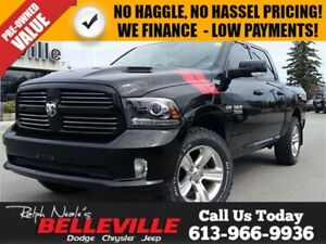 2014 Ram 1500 Sport-Premium Sound Group-Heated Seats and Steerin