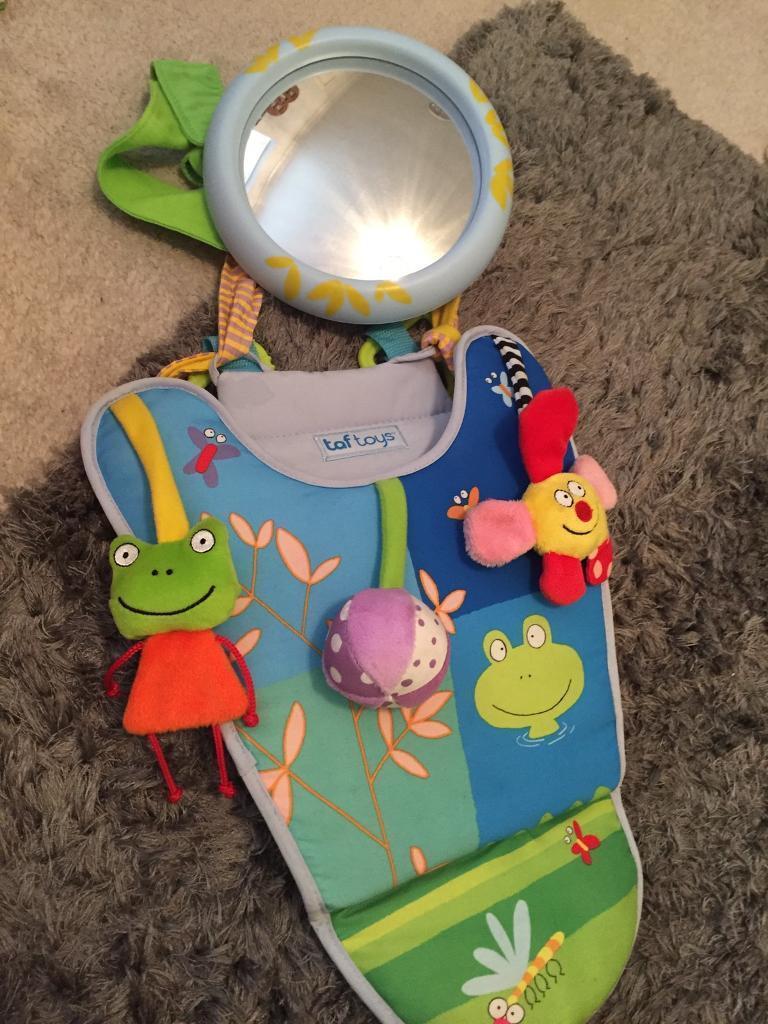 Taf Toys Rear Facing Car Seat Toy Mirror