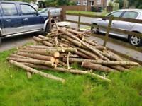 Logs Open Fire Log Burner Firepit Aga
