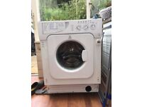 Indesit IWDE126 Integrated Washer Dryer - USED