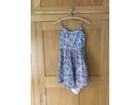 Blue floral dress from NEXT, age 12 (child)