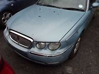 ROVER 75 2.5 2001 PETROL SKY BLUE WHEEL NUT**breaking for spares**