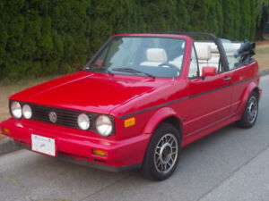 1989 VW Golf Cabriolet - Low kms