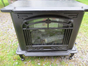Electric Fireplace Now $10.