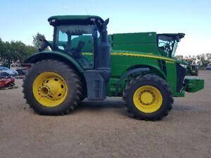 john deere 8245 fwa tractor