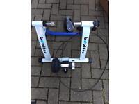 Bike magnetic turbo trainer