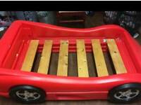 Car bed with mattress