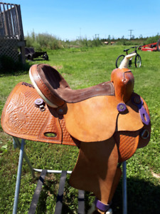 "14 "" Barrel saddle, ""The American"""