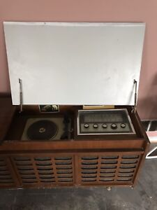Vintage antique RCA console stereo